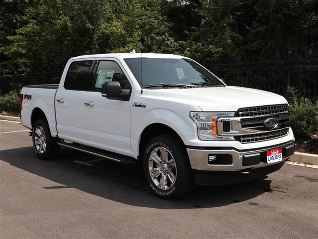 2018 F-150 SuperCrew Cab 4x4,  Pickup #18T1461 - photo 3