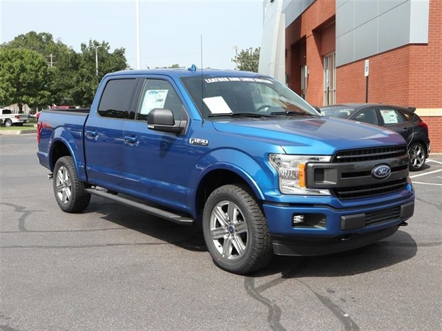 2018 F-150 SuperCrew Cab 4x4,  Pickup #18T1463 - photo 3