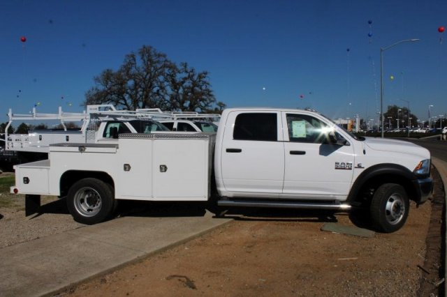 2017 Ram 5500 Crew Cab DRW 4x2,  Scelzi Welder Body #52402D - photo 2