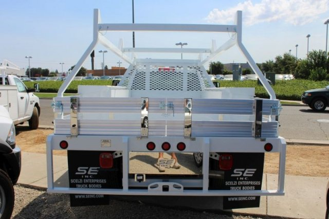 2018 Ram 3500 Regular Cab DRW 4x2,  Scelzi CTFB Contractor Body #53729D - photo 4