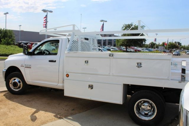 2018 Ram 3500 Regular Cab DRW 4x2,  Scelzi Contractor Body #53729D - photo 2