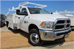 2018 Ram 3500 Regular Cab DRW 4x2,  Scelzi CTFB Contractor Body #53729D - photo 1