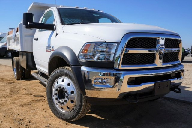 2018 Ram 5500 Regular Cab DRW 4x2,  Enoven Truck Body & Equipment E-Series Dump Body #54316D - photo 1