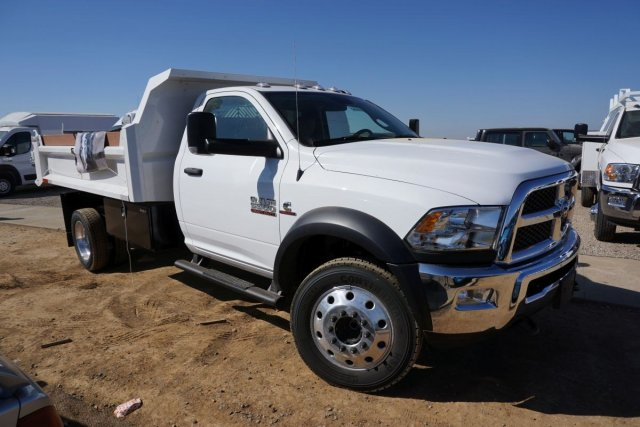 2018 Ram 5500 Regular Cab DRW 4x2,  Enoven Truck Body & Equipment E-Series Dump Body #54316D - photo 3