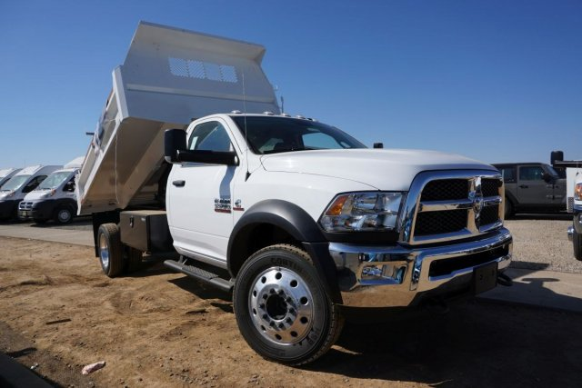 2018 Ram 5500 Regular Cab DRW 4x2,  Enoven Truck Body & Equipment E-Series Dump Body #54316D - photo 24
