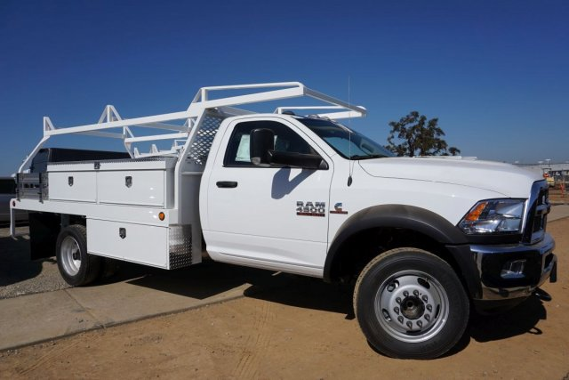 2018 Ram 4500 Regular Cab DRW 4x2,  Scelzi Contractor Body #54373D - photo 3