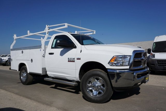 2018 Ram 3500 Regular Cab 4x2,  Royal Service Body #54914D - photo 3