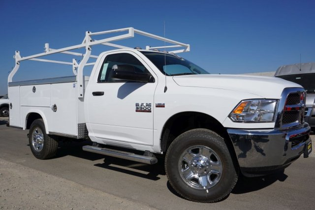 2018 Ram 3500 Regular Cab 4x2,  Royal Service Body #54915D - photo 3