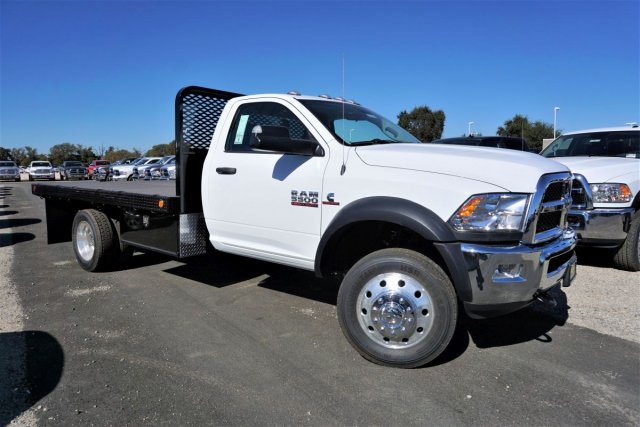 2018 Ram 5500 Regular Cab DRW 4x2,  Scelzi Platform Body #54917D - photo 3