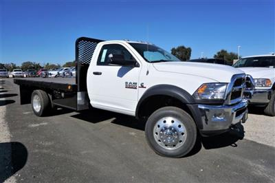 2018 Ram 5500 Regular Cab DRW 4x2,  Scelzi SFB Platform Body #54917D - photo 3