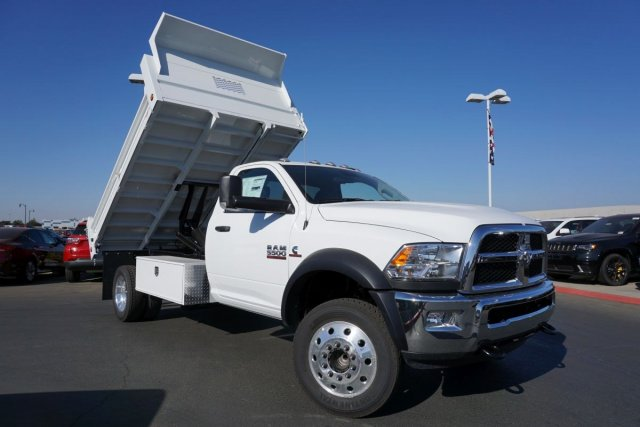 2018 Ram 5500 Regular Cab DRW 4x2,  Scelzi Dump Body #54969D - photo 16