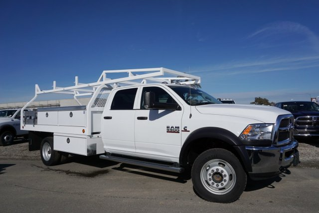 2018 Ram 5500 Crew Cab DRW 4x4,  Contractor Body #54983D - photo 3