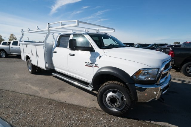 2018 Ram 5500 Crew Cab DRW 4x4,  Service Body #54992D - photo 3