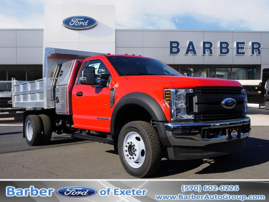 2019 F-550 Regular Cab DRW 4x4, Duramag Dump Body #10154T - photo 1
