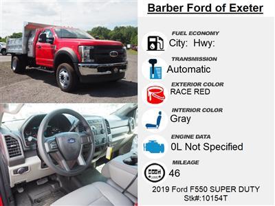 2019 Ford F-550 Regular Cab DRW 4x4, Duramag Dump Body #10154T - photo 15