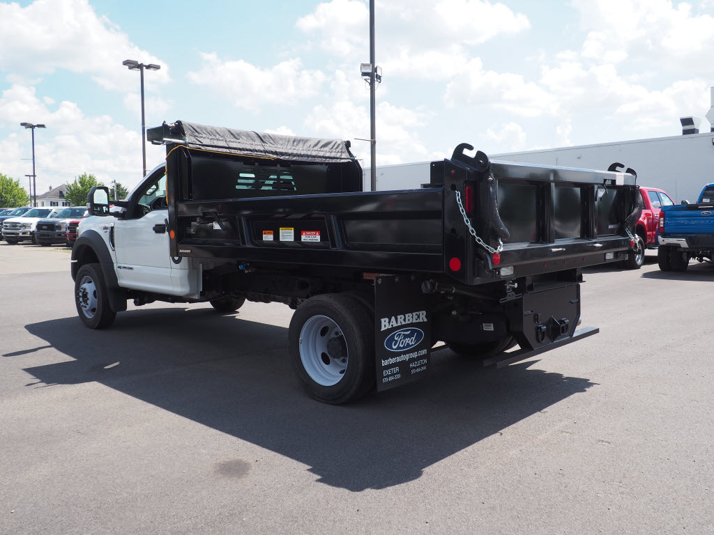 2019 Ford F-550 Regular Cab DRW 4x4, Reading Marauder Dump Body #10193T - photo 5