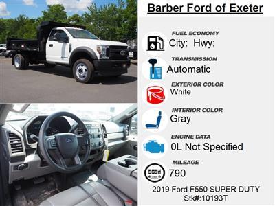 2019 Ford F-550 Regular Cab DRW 4x4, Reading Marauder Dump Body #10193T - photo 15