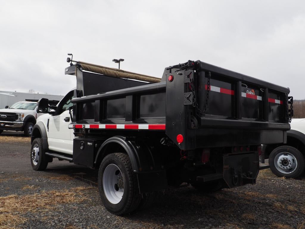 2017 Ford F-550 Regular Cab DRW 4x4, Dump Body #10263B - photo 4