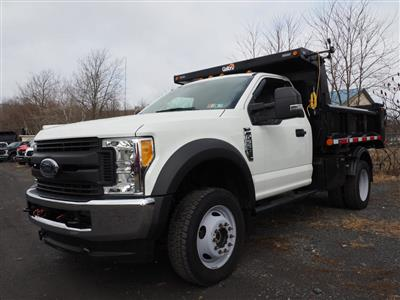 2017 Ford F-550 Regular Cab DRW 4x4, Dump Body #10263B - photo 3