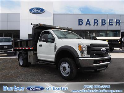 2017 Ford F-550 Regular Cab DRW 4x4, Dump Body #10263B - photo 1