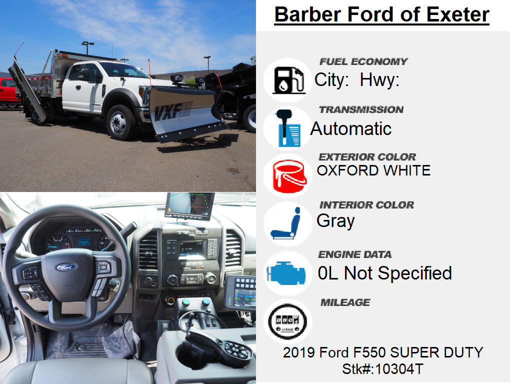 2019 Ford F-550 Super Cab DRW 4x4, Duramag Dump Body #10304T - photo 15