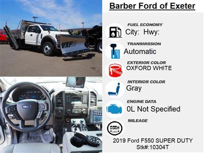 2019 F-550 Super Cab DRW 4x4, Duramag Dump Body #10304T - photo 15