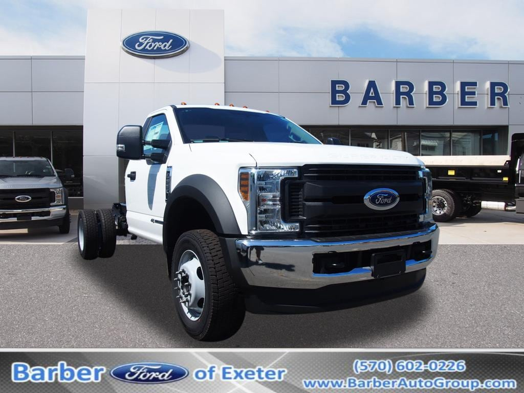 2019 Ford F-550 Regular Cab DRW 4x4, Cab Chassis #10308T - photo 1