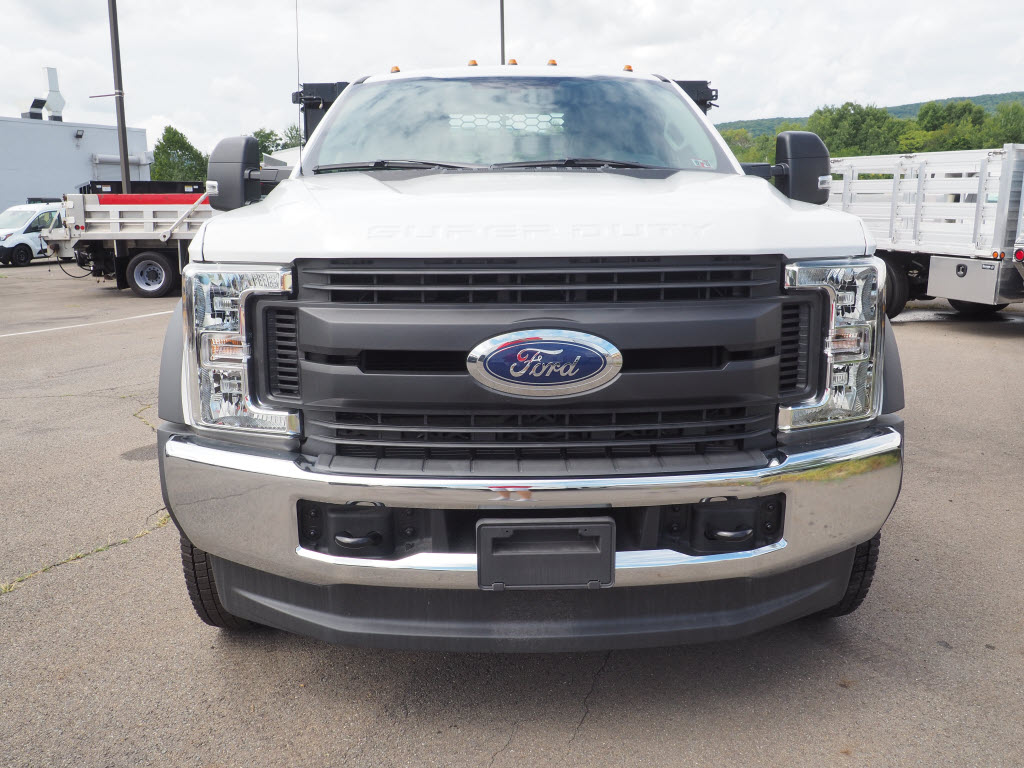 2019 Ford F-550 Regular Cab DRW 4x4, Stake Bed #10308T - photo 9