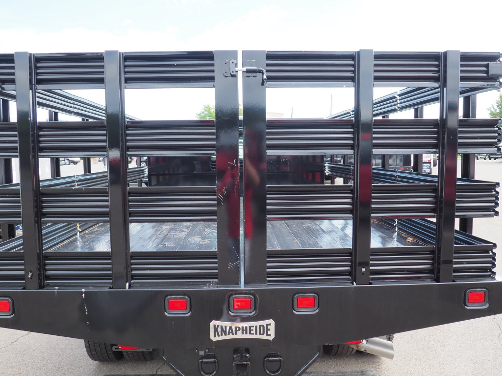 2019 Ford F-550 Regular Cab DRW 4x4, Stake Bed #10308T - photo 13
