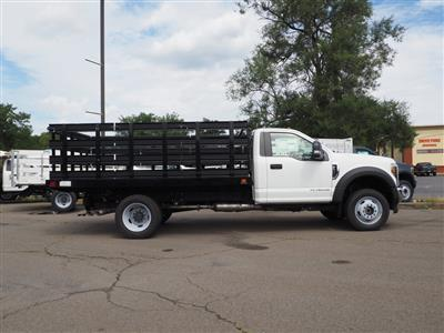 2019 Ford F-550 Regular Cab DRW 4x4, Stake Bed #10308T - photo 3