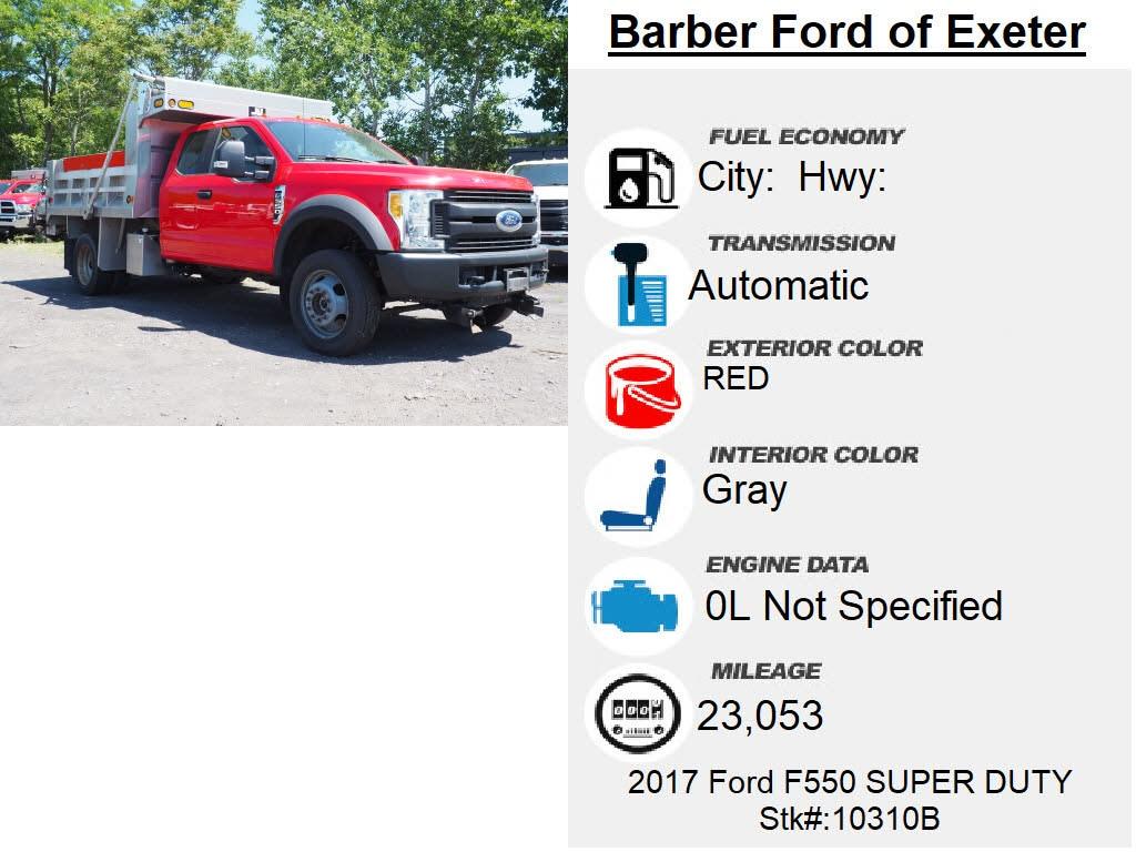 2017 Ford F-550 Super Cab DRW 4x4, Dump Body #10310B - photo 6
