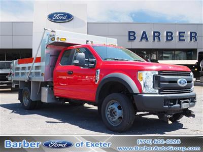 2017 Ford F-550 Super Cab DRW 4x4, Dump Body #10310B - photo 1