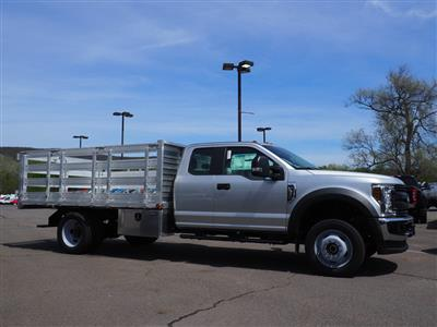 2019 F-550 Super Cab DRW 4x4, Stake Bed #10390T - photo 4