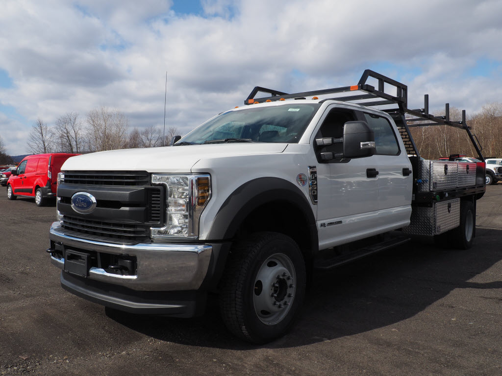 2019 Ford F-550 Crew Cab DRW 4x4, SH Truck Bodies Platform Body #10442T - photo 5