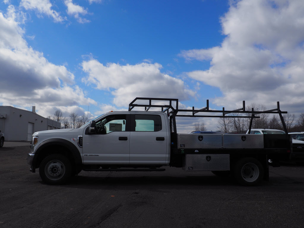 2019 F-550 Crew Cab DRW 4x4, SH Truck Bodies Platform Body #10442T - photo 8