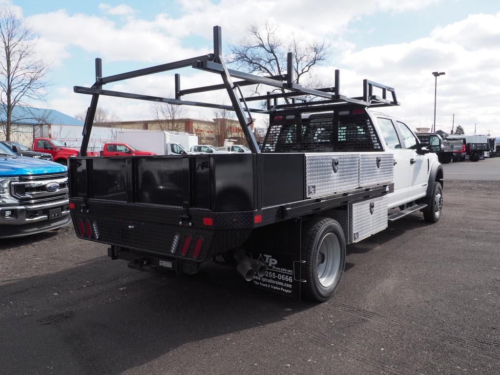 2019 Ford F-550 Crew Cab DRW 4x4, SH Truck Bodies Platform Body #10442T - photo 1