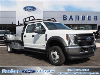 2019 F-550 Crew Cab DRW 4x4, SH Truck Bodies Platform Body #10442T - photo 1