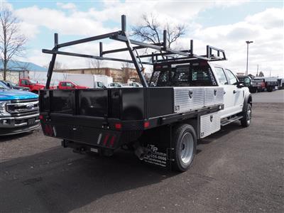 2019 Ford F-550 Crew Cab DRW 4x4, SH Truck Bodies Platform Body #10442T - photo 2