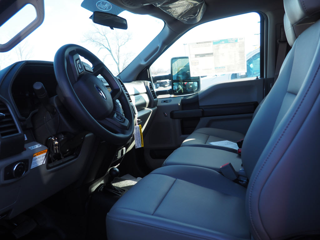 2019 Ford F-550 Regular Cab DRW 4x4, Rugby Eliminator LP Steel Dump Body #10447T - photo 3