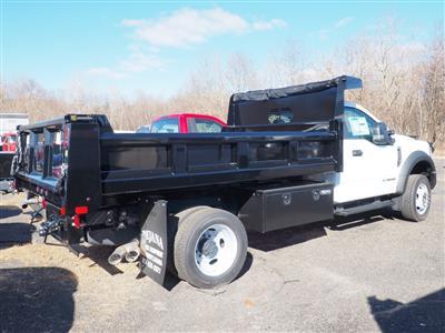 2019 Ford F-550 Regular Cab DRW 4x4, Rugby Eliminator LP Steel Dump Body #10447T - photo 2