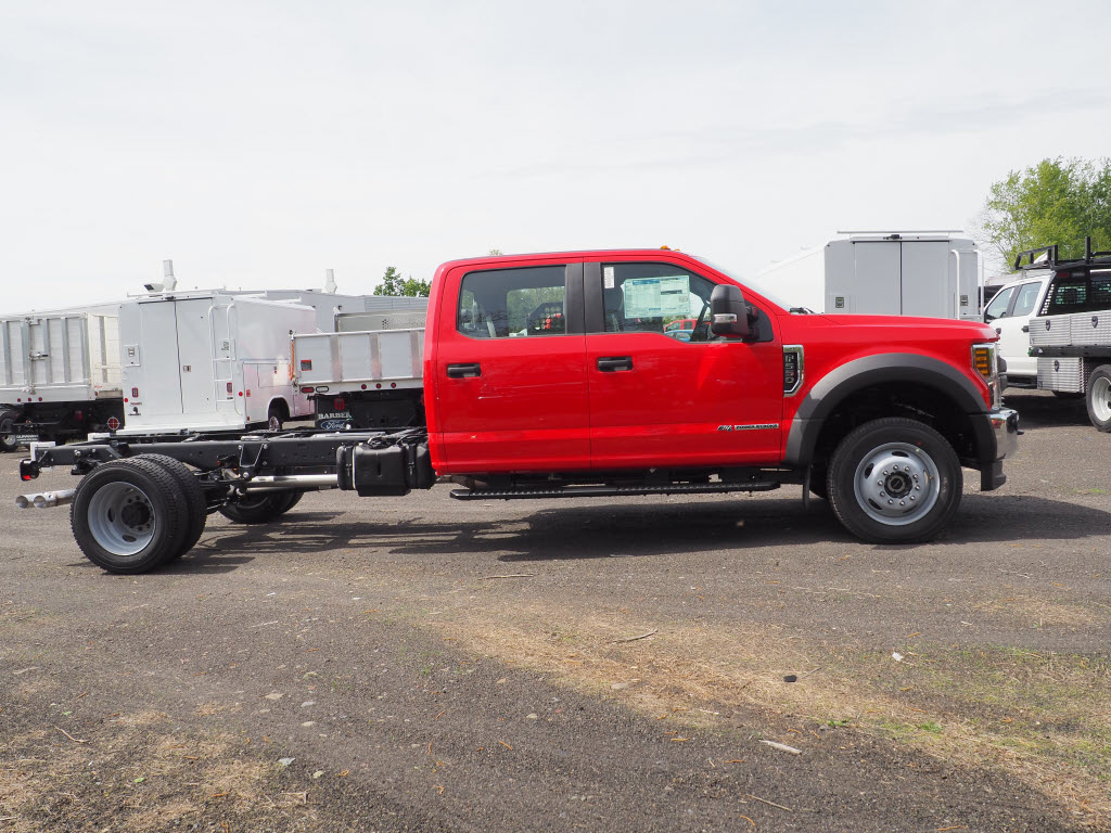2019 Ford F-550 Crew Cab DRW 4x4, Cab Chassis #10471T - photo 3