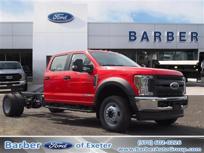 2019 Ford F-550 Crew Cab DRW 4x4, Cab Chassis #10471T - photo 1