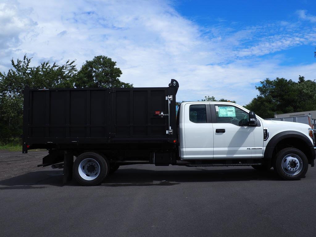 2019 Ford F-550 Super Cab DRW 4x4, Landscape Dump #10472T - photo 3