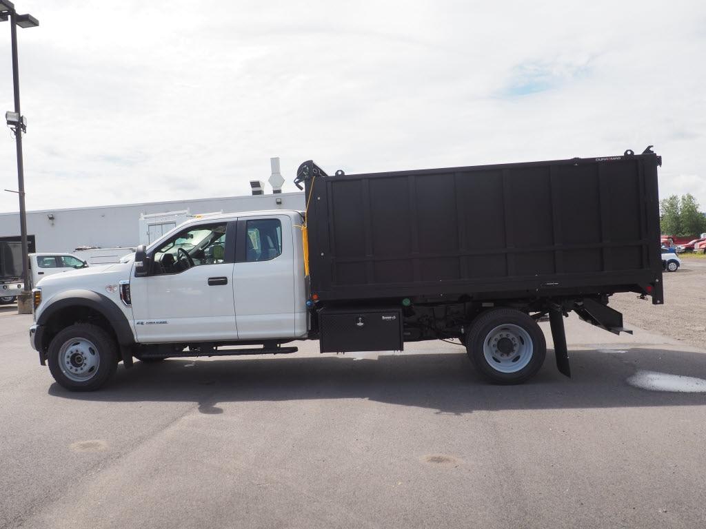 2019 Ford F-550 Super Cab DRW 4x4, Landscape Dump #10472T - photo 7