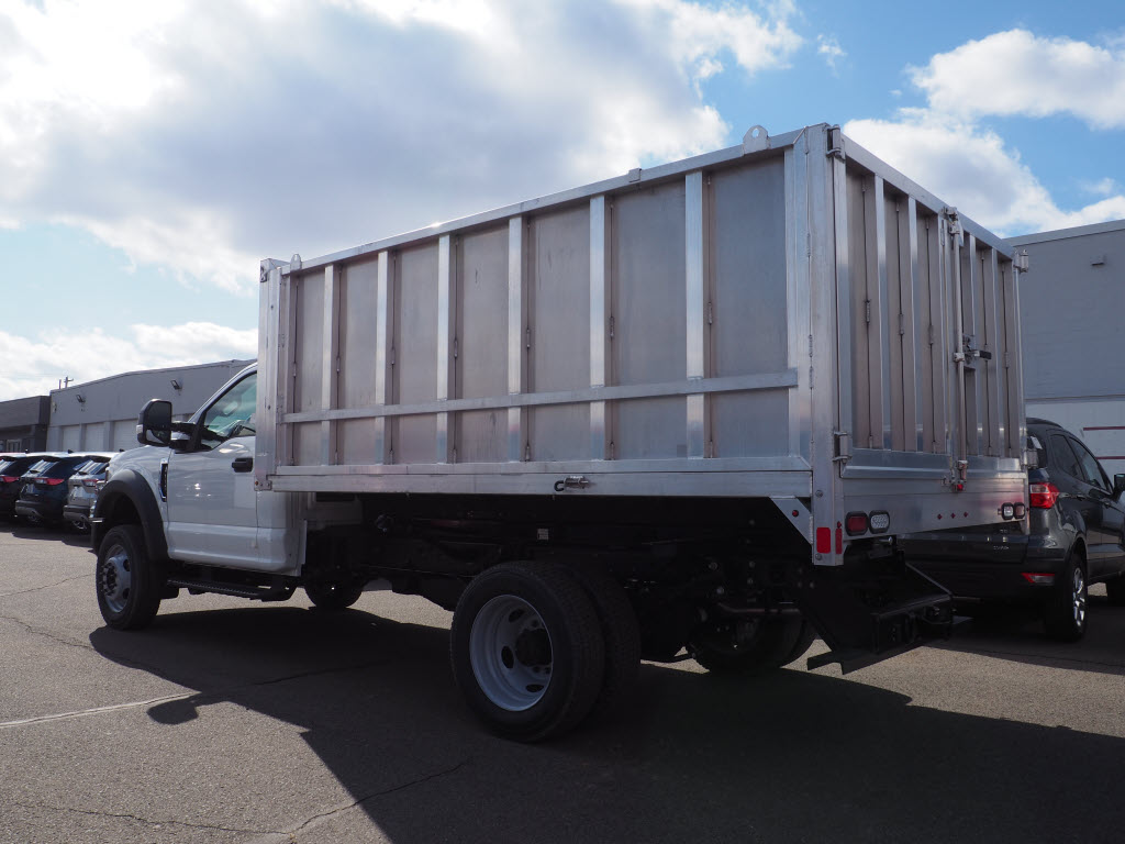 2019 Ford F-550 Regular Cab DRW 4x4, Duramag Aluminum Landscape Dump #10479T - photo 2