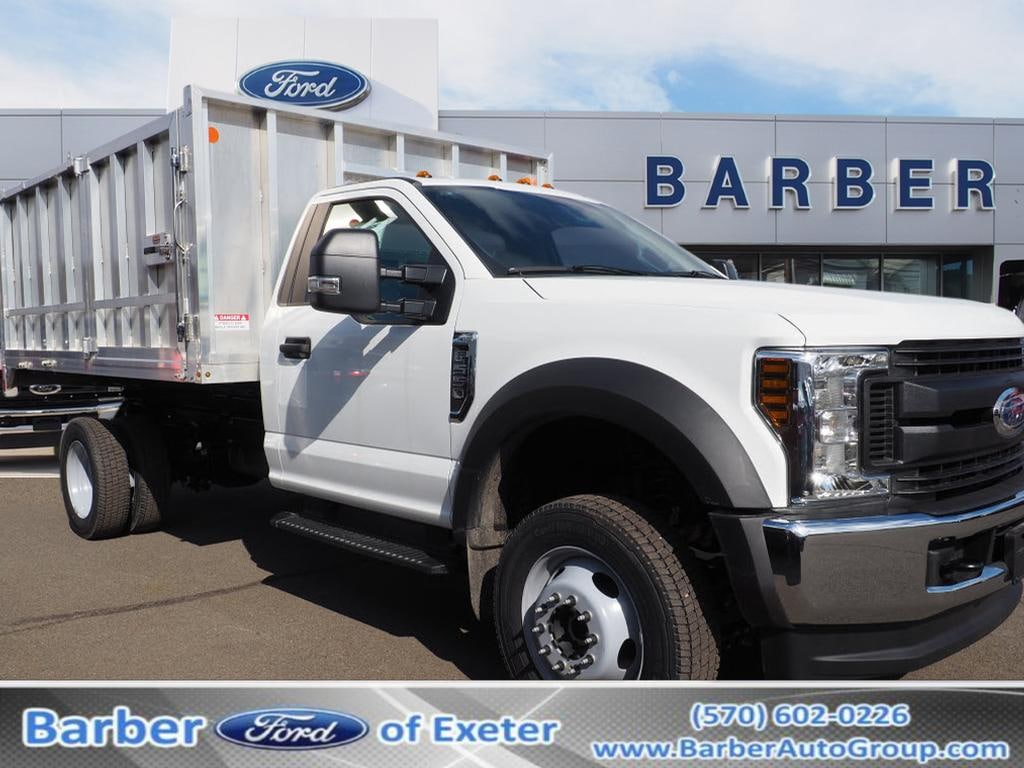 2019 Ford F-550 Regular Cab DRW 4x4, Duramag Aluminum Landscape Dump #10479T - photo 1