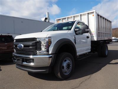 2019 Ford F-550 Regular Cab DRW 4x4, Duramag Aluminum Landscape Dump #10479T - photo 5