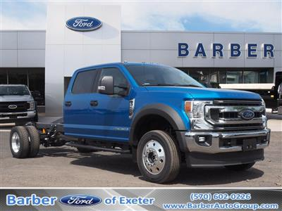 2020 Ford F-550 Crew Cab DRW 4x4, Cab Chassis #10543T - photo 1