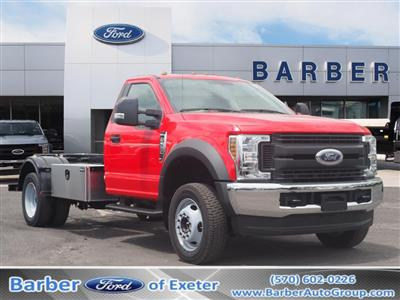 2019 Ford F-550 Regular Cab DRW 4x4, Switch N Go Hooklift Body #10579T - photo 1