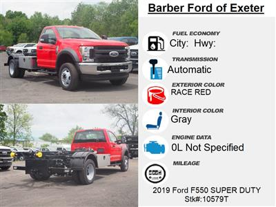 2019 Ford F-550 Regular Cab DRW 4x4, Switch N Go Hooklift Body #10579T - photo 16
